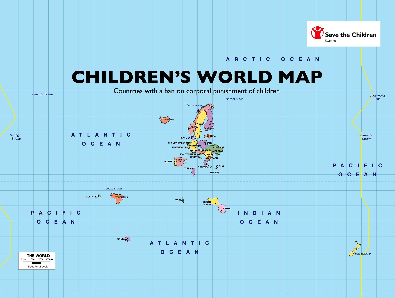 Childrens world map carolinebach childrens world map clicck to viewdownload a larger version gumiabroncs Choice Image