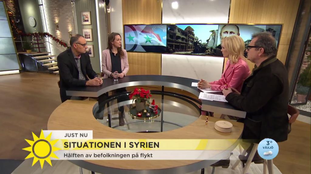 Syria Nyhetsmorgon Screenshot